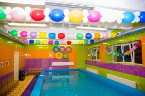 Бассейны в детских садах, фото
