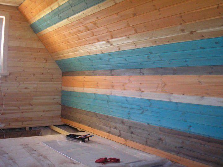 Чем покрасить вагонку внутри дома - обзор и пошаговая инструкция!