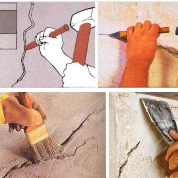 Чем заделать дыру в стене: 4 способа и инструкция с видео
