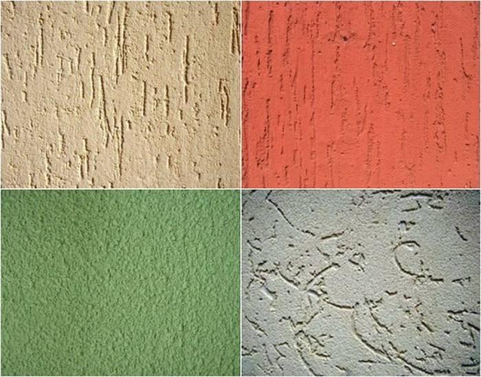 Декоративная штукатурка стен, виды и особенности нанесения