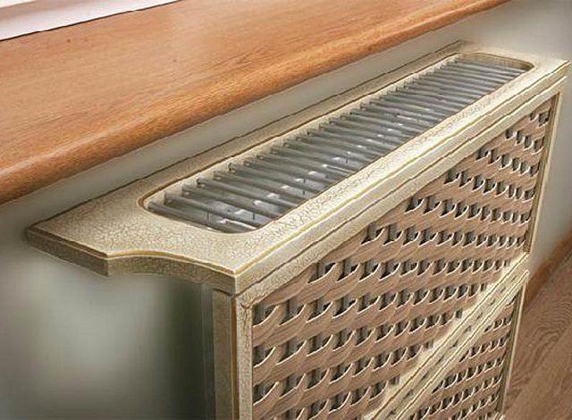 Декоративные решетки на радиаторы отопления - требования, разновидности и уровень цен
