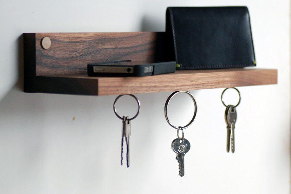 Держатели для ключей своими руками - инструкция, схема