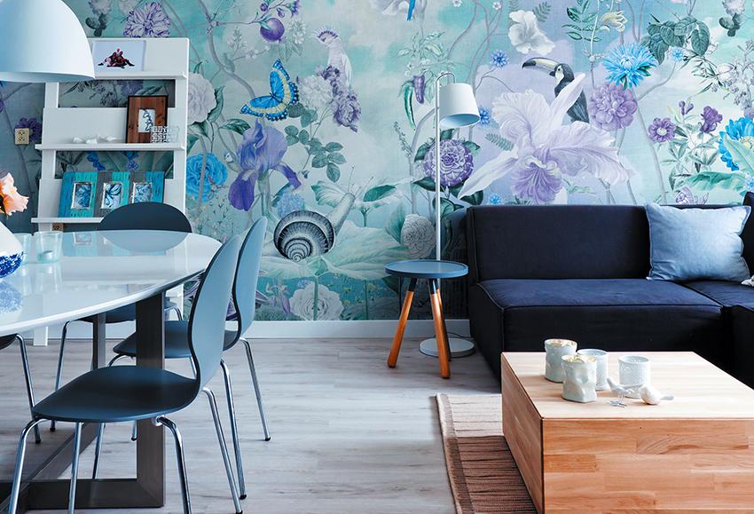 Фото-обои для зала: эффектный акцент в дизайне помещения