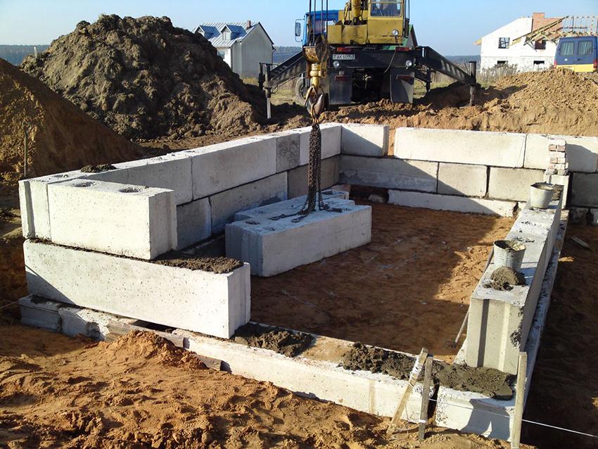 Фундаментные блоки: строительство объектов в кратчайшие сроки