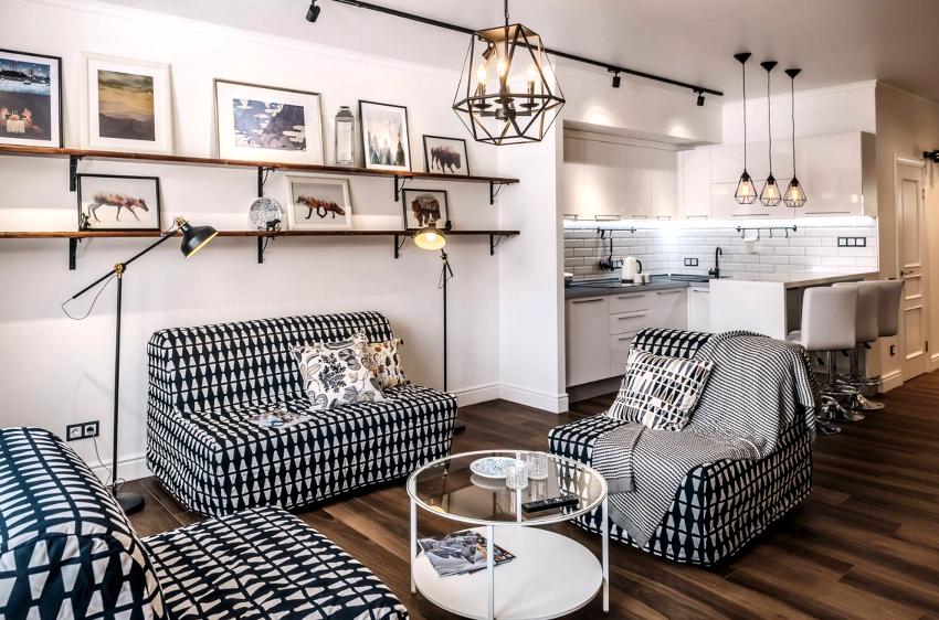 Гостиная в скандинавском стиле: создание легкого и непринужденного интерьера