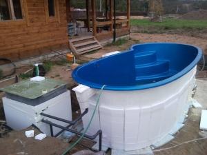 Изготовление бассейнов: полипропиленовые, пластиковые, фото