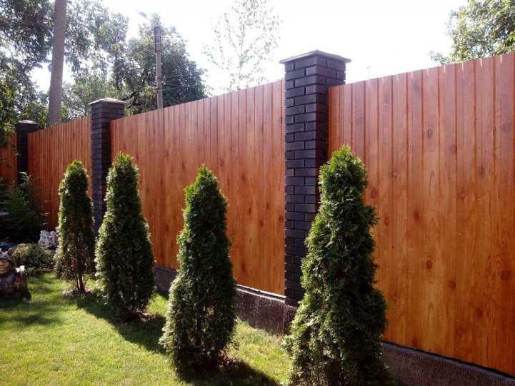 Как сделать декоративный забор своими руками - проектирование, разметка и возведение забора (110 фото)
