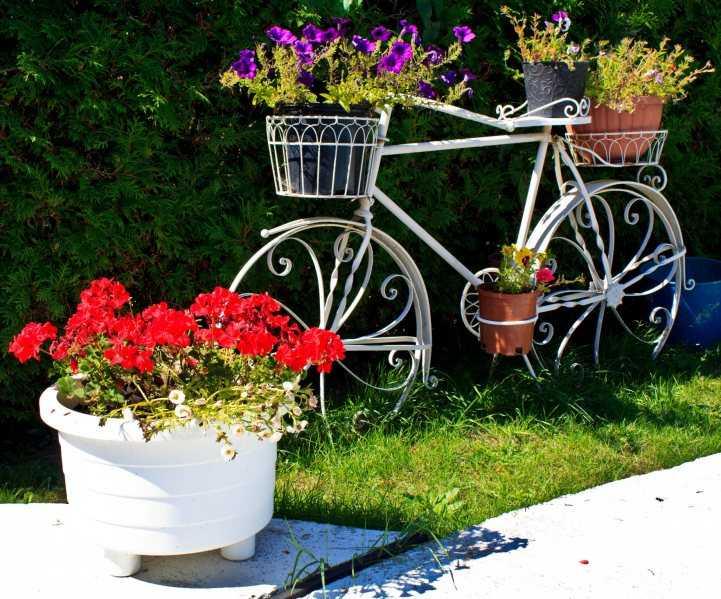 Как сделать кашпо для сада - 90 фото и видео описание как самостоятельно изготовить красивые уличные кашпо