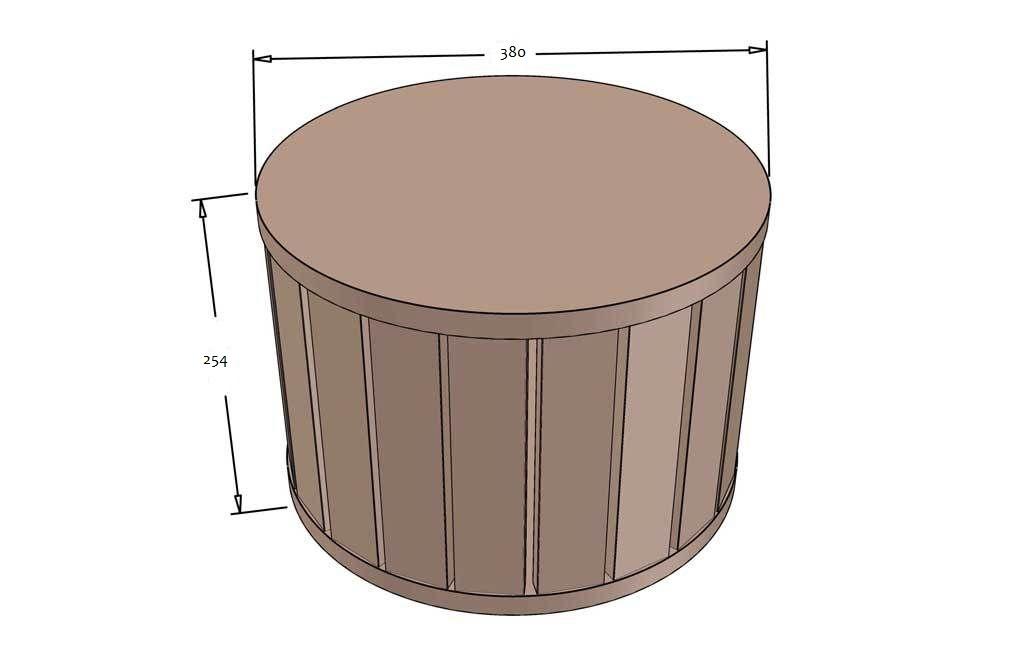 Как сделать пуфик в османском стиле: простая конструкция за 1500 руб.