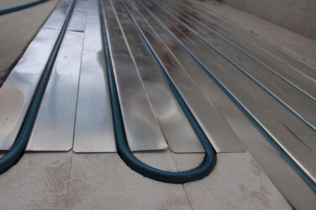 Как сделать тёплый пол от отопления - пошаговая инструкция от мастера