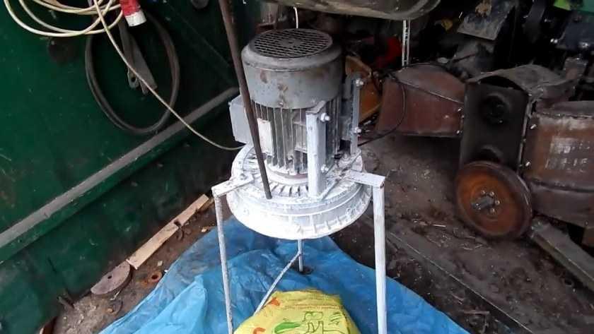как сделать устройство для измельчения зерна