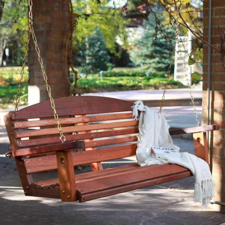 Как установить садовые качели - 110 фото, видео мастер-класс, советы и рекомендации по выбору места установки