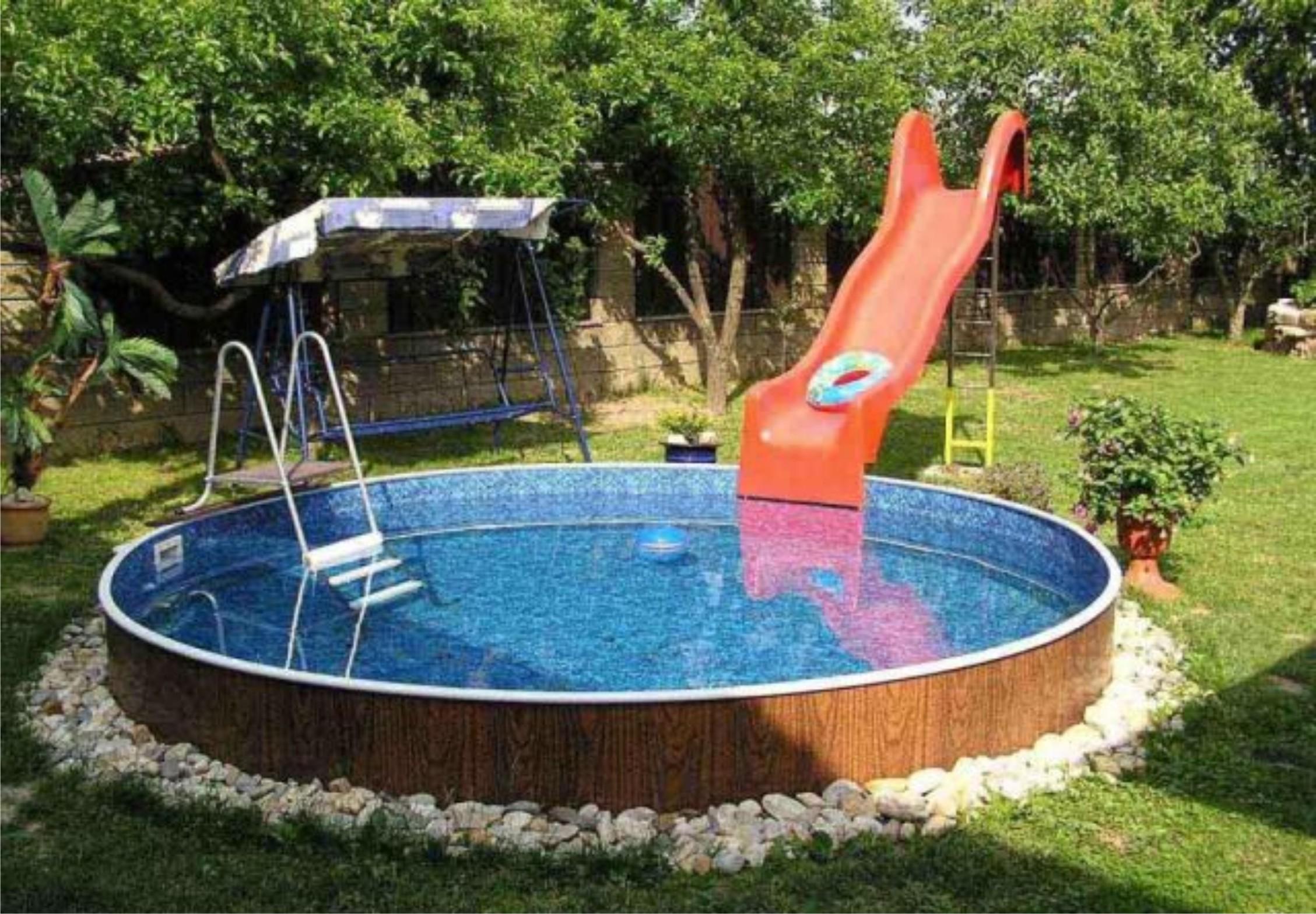Каркасный бассейн своими руками на даче: видео, как построить