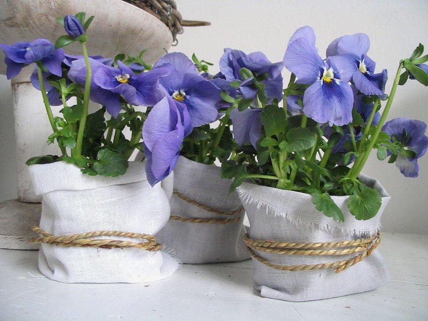 Кашпо для цветов своими руками: оригинальное украшение цветочной зоны