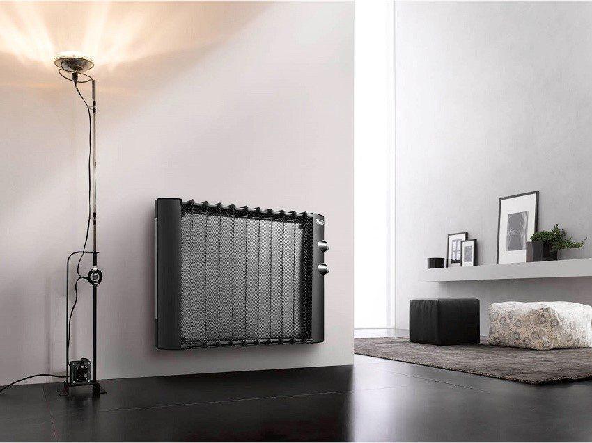 Конвекторы отопления электрические с терморегулятором настенные: типы и характеристики