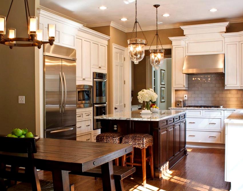 Люстра на кухню: грамотный подход к выбору осветительного прибора