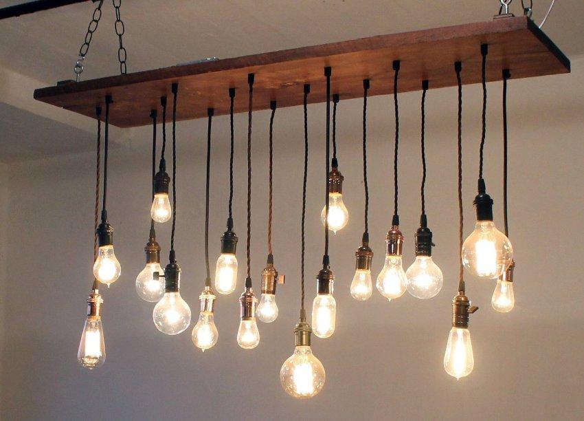 Люстра в спальню: интересные идеи светодизайна и технические рекомендации