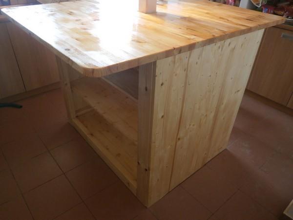Мини-бар из канистры, простейший кухонный островок и кухонный ящик - уникальные вещи своими руками