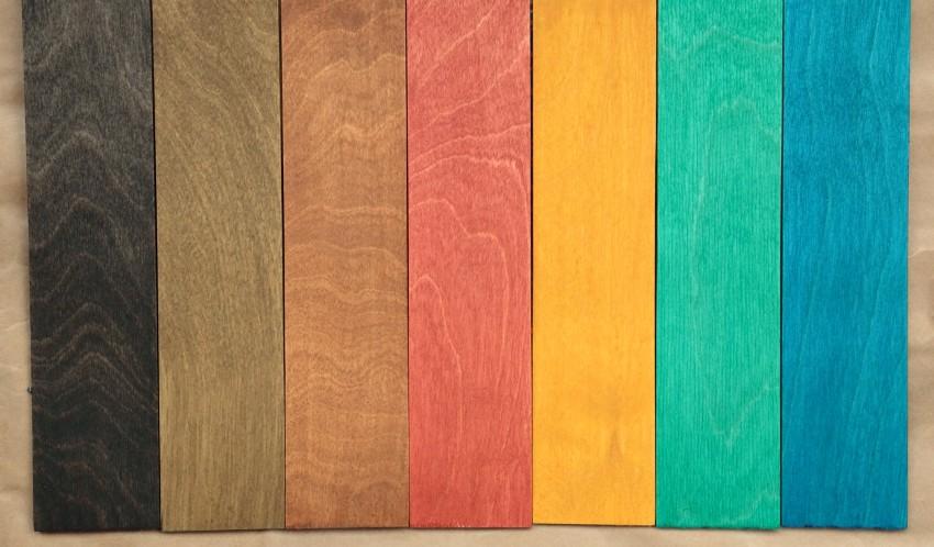 Морилка для дерева: цвета тонирующих растворов и красивые эффекты окрашивания