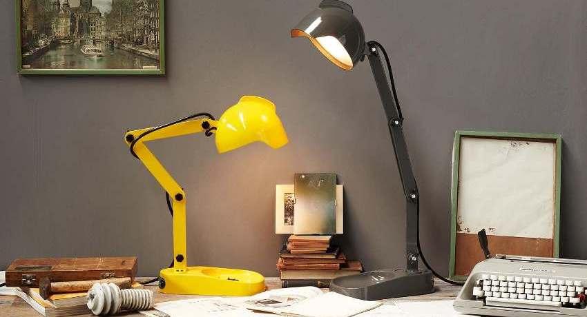 Настольная лампа для рабочего стола: как безошибочно выбрать нужный вариант