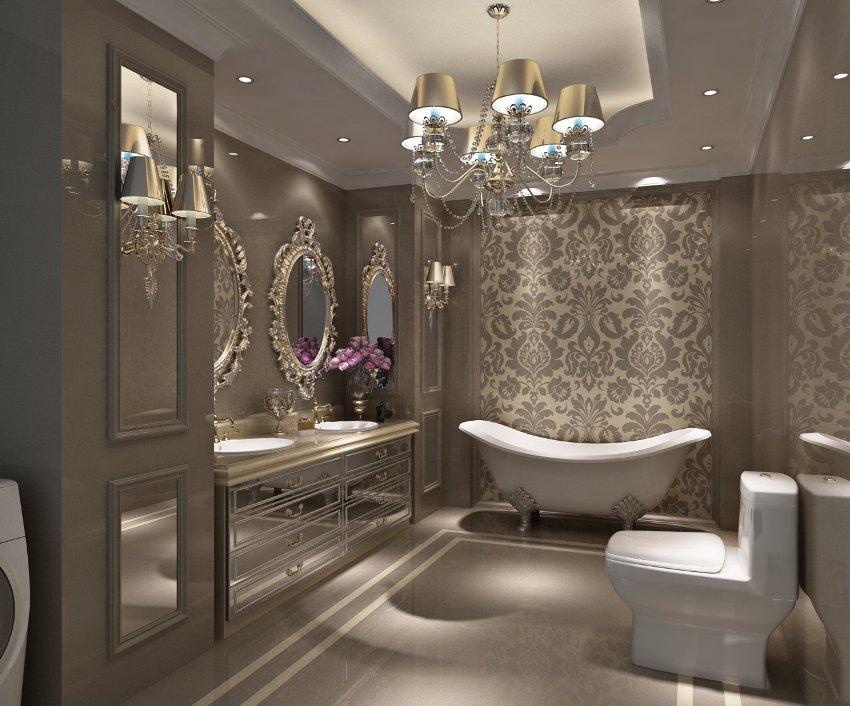 Обои для ванной комнаты: универсальное решение для стильного помещения