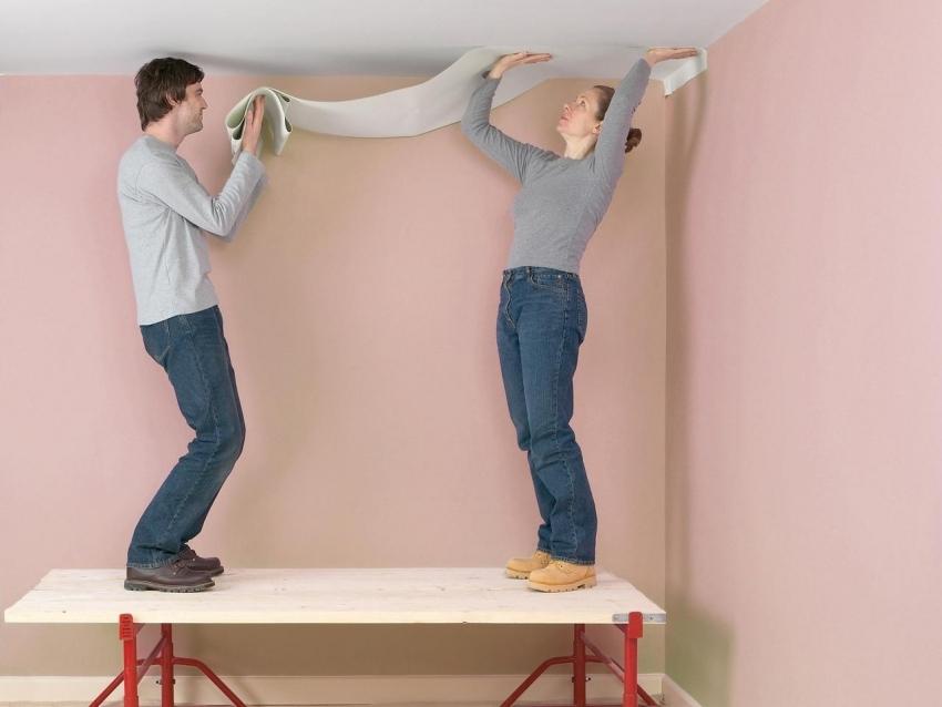 Обои под покраску в интерьере: фото удачных дизайнерских решений