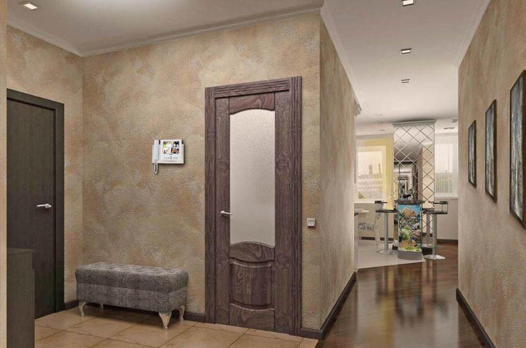 Отделка прихожей и коридора с помощью современных материалов