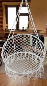Подвесное кресло своими руками - несколько интересных вариантов