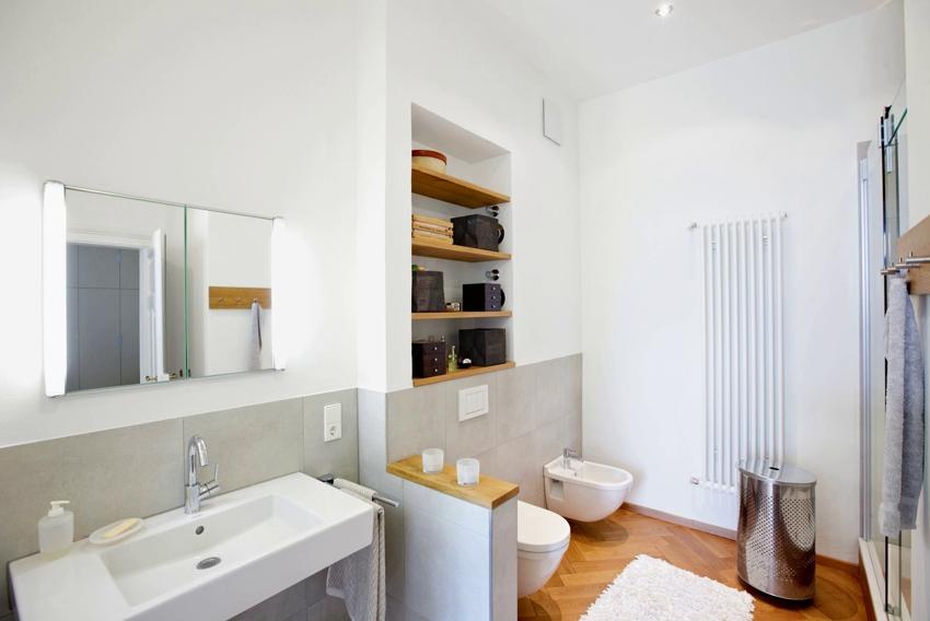 Полки в ванной из гипсокартона: что учесть для создании долговечных конструкций