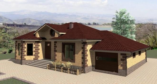 Проекты домов с гаражом на любой вкус и бюджет