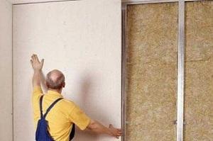 Работа с гипсокартоном своими руками стены и легкие перегородки