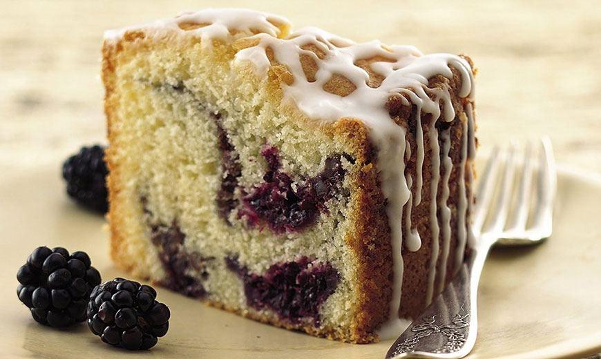 Рецепты с ежевикой - торты, кексы, варенье, вино, десерты