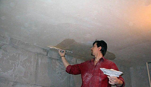 Ремонт потолка своими руками - как все сделать правильно?