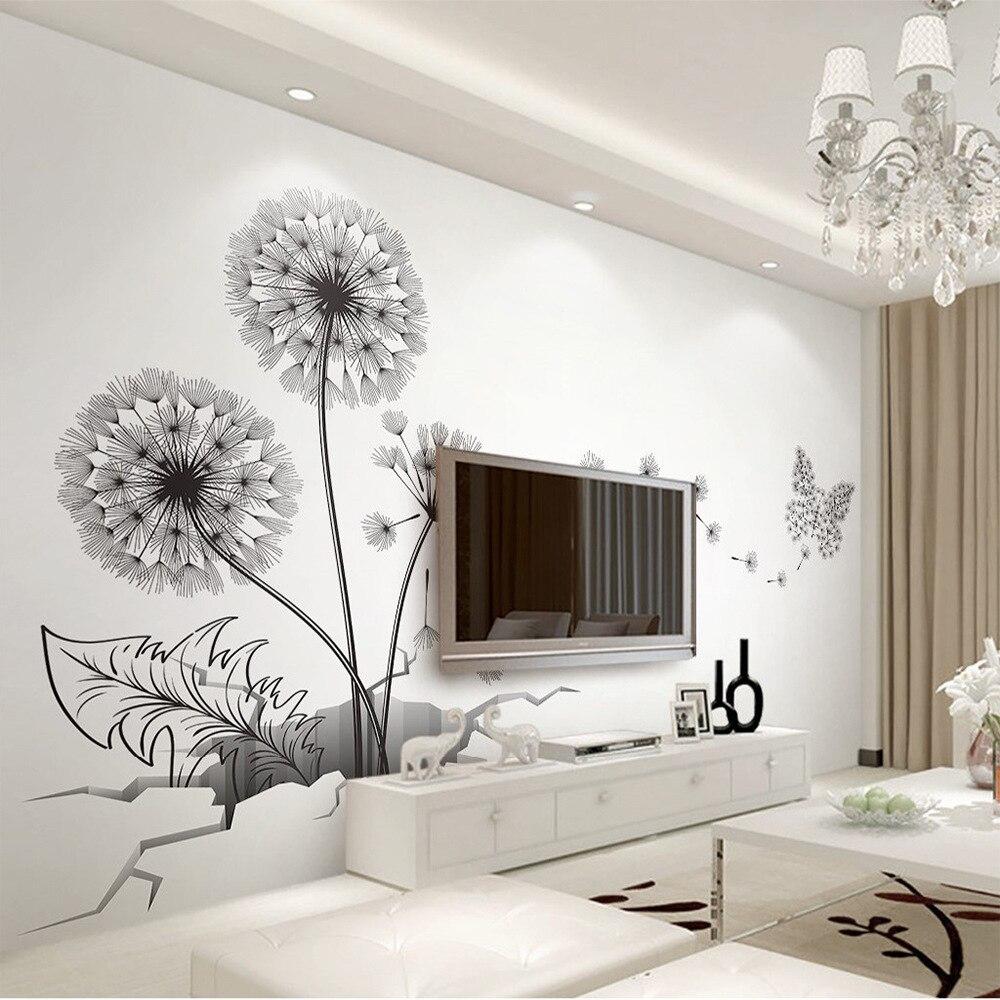Рисунки на стене в квартире