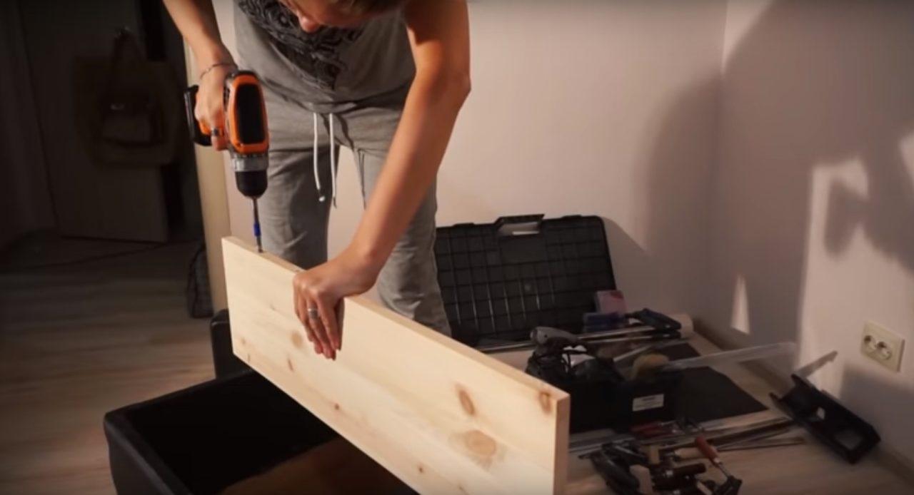 Стол компьютерный с полками и ящиками - пошаговая инструкция!