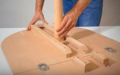 Стол своими руками - инструкция, по которой стол соберет даже новичок