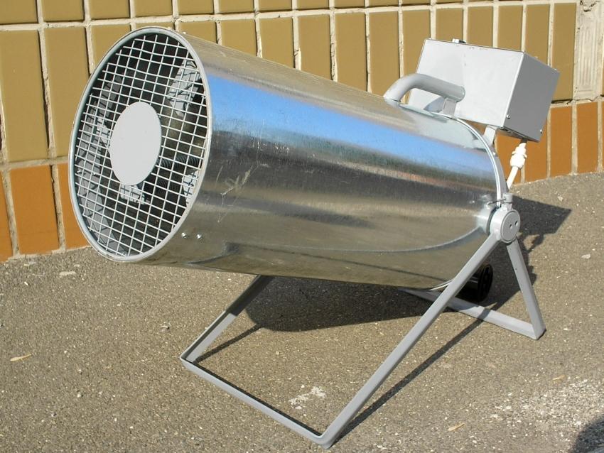 Тепловая электрическая пушка 220В: обзор лучших обогревательных приборов