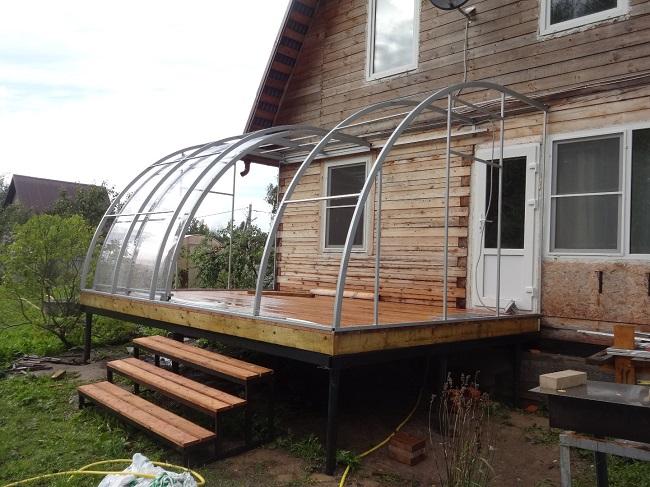 Терраса к дому: лучшие проекты и реализованные идеи