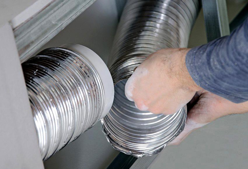 Трубы для вытяжек: нюансы выбора и особенности монтажа