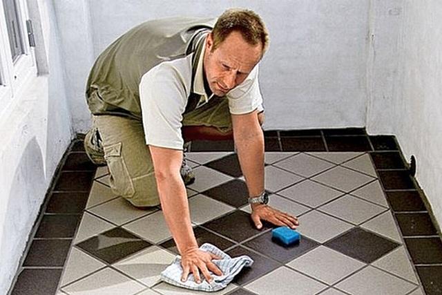 Укладка плитки по диагонали на пол – особенности выполнения работ с прямоугольной плиткой