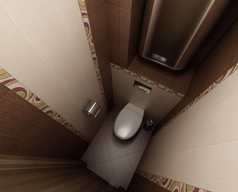 Укладка плитки в туалете своими руками, практические советы