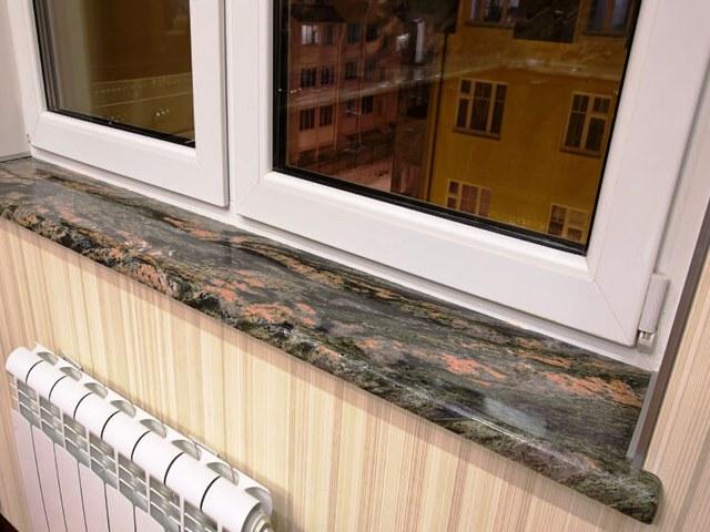 Установка подоконника на пластиковые окна самостоятельно