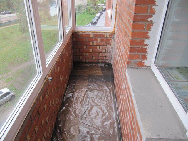 Утепление пола на балконе - несколько несложных способов