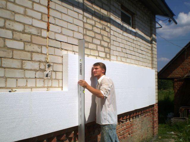 Утепление стен пеноплексом технология - учимся выполнять самостоятельно