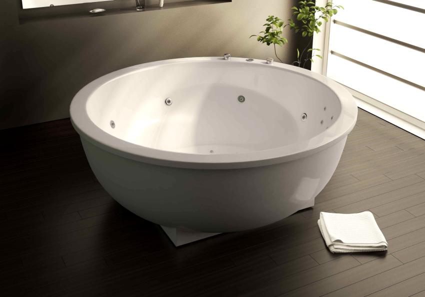Ванна с гидромассажем: лучший способ сделать санузел местом для отдыха