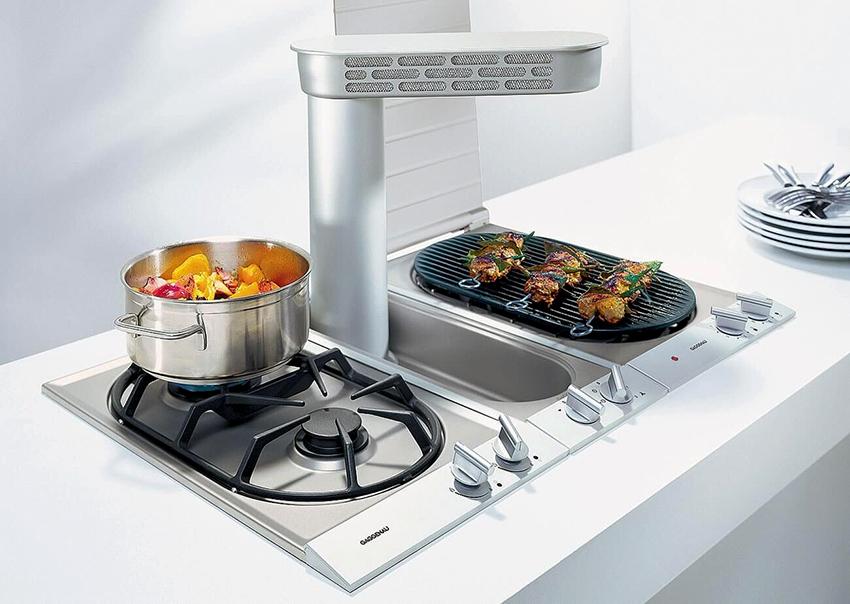 Варочная газовая панель: классический вариант для современной кухни