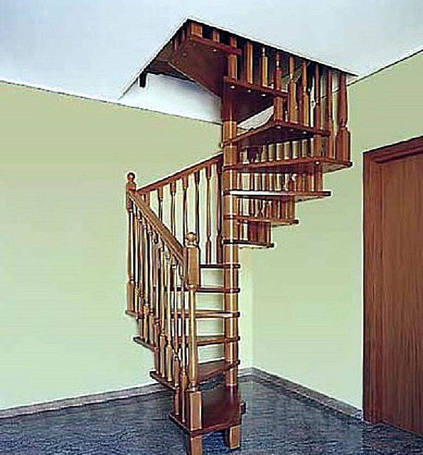 Винтовая лестница своими руками - попробуйте собственные силы!