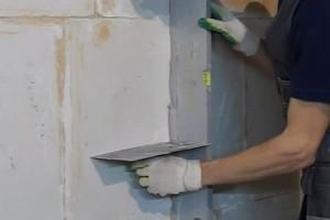Выравнивание стен по маякам своими руками - несложные и точные способы