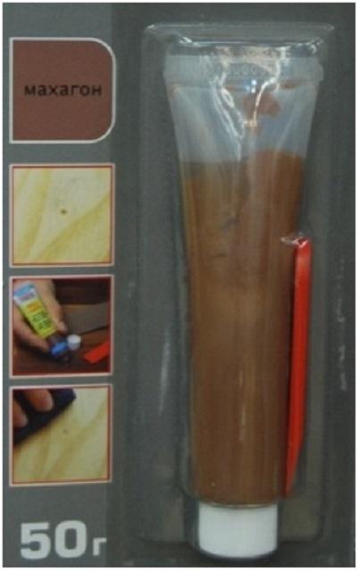 Замазка для ламината - разновидности и порядок проведения реставрации
