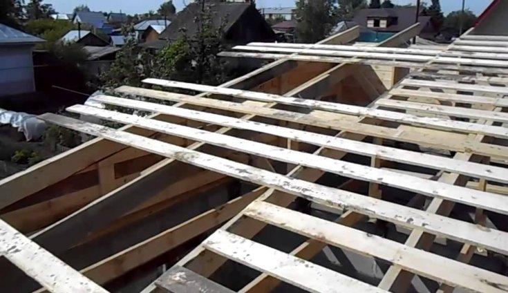 115 фото выбора конструкции и постройки односкатной крыши